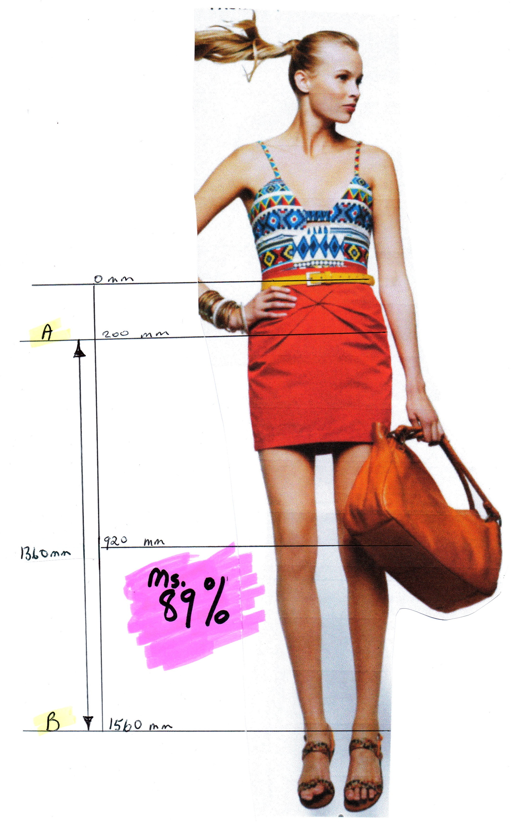 How magazines stretch models legs mathspig blog for Model height