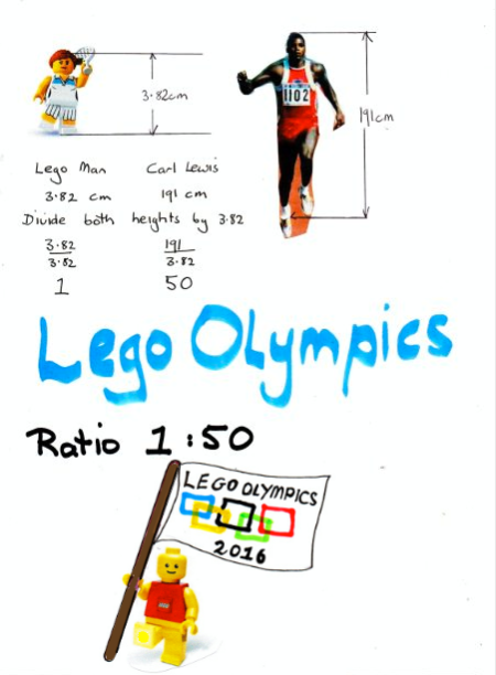 Lego Olympics to Scale2016