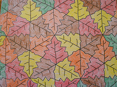 Tessellations on Tessellation Cut Outs