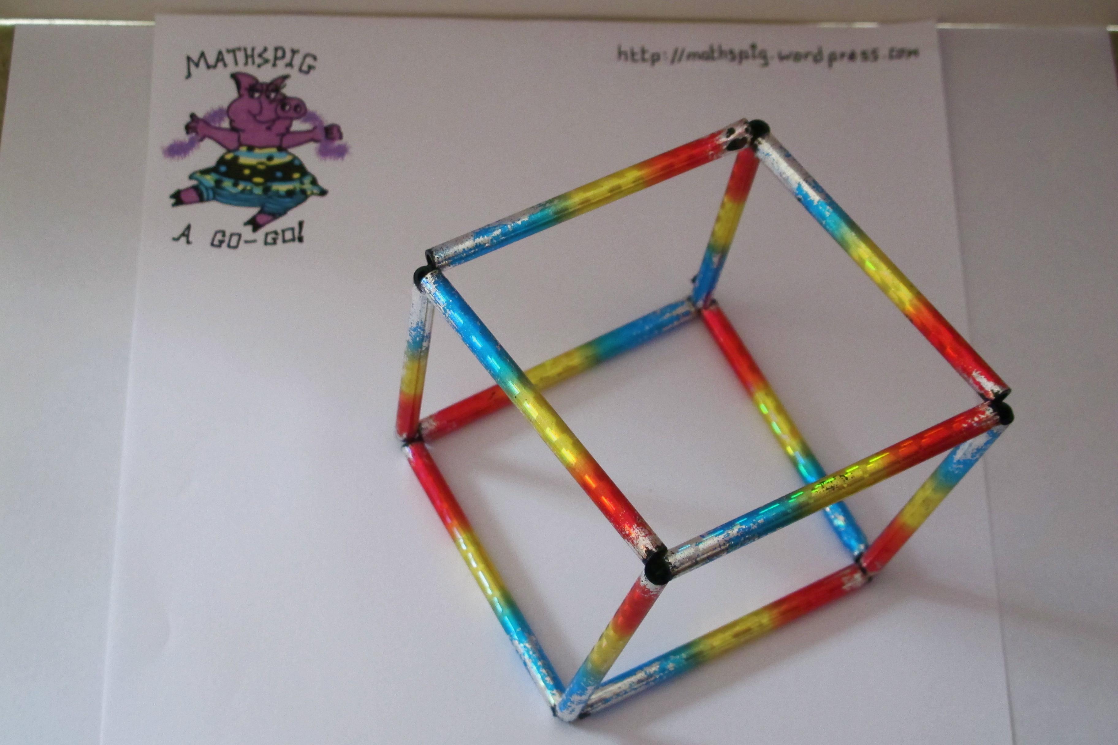 Fun maths mathspig blog - What can you make with straws ...