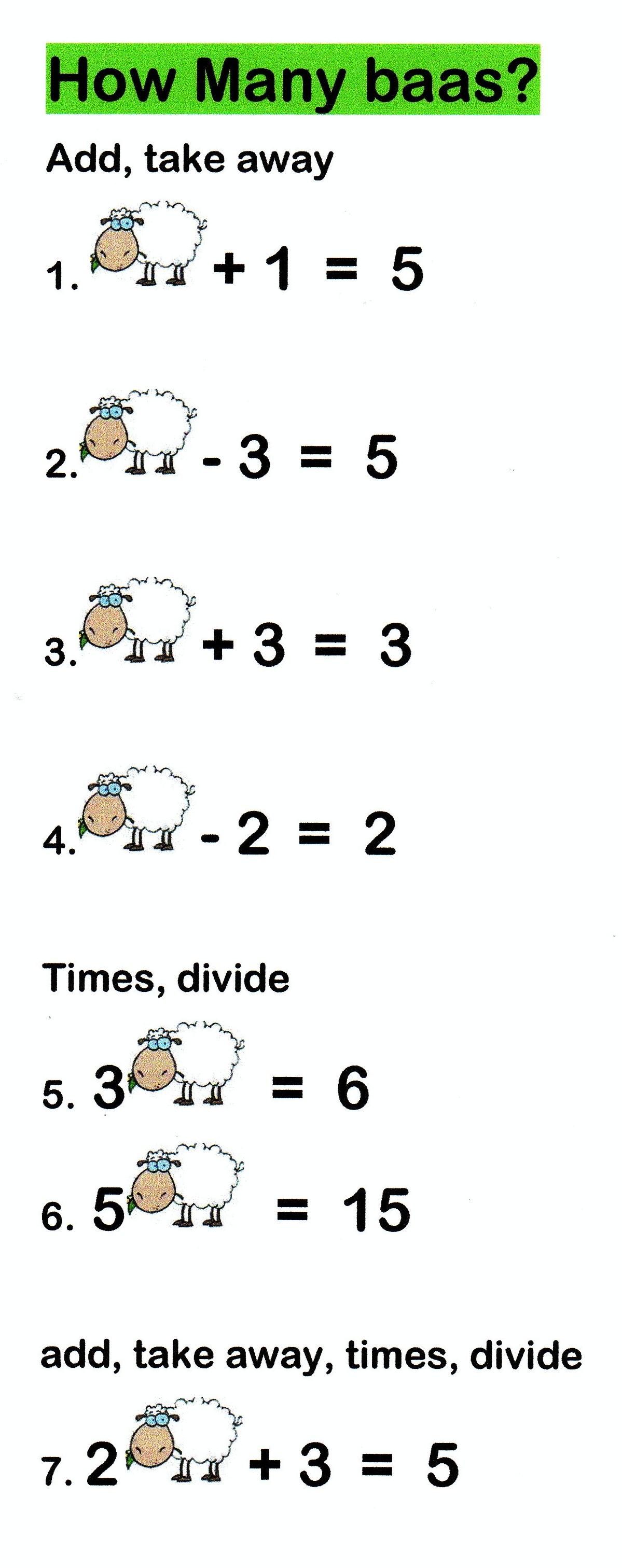 funny simultaneous equations | Mathspig Blog