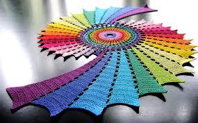 6 crochet fractal