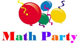 math party sign