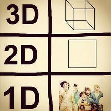 one direction in math