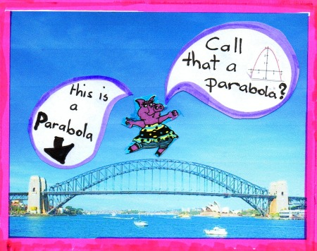 Mathspig does Sydney Harbour Bridge