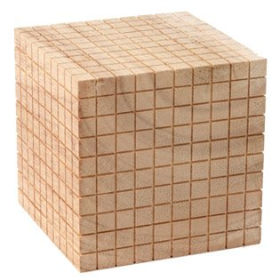 10 by 10 cube