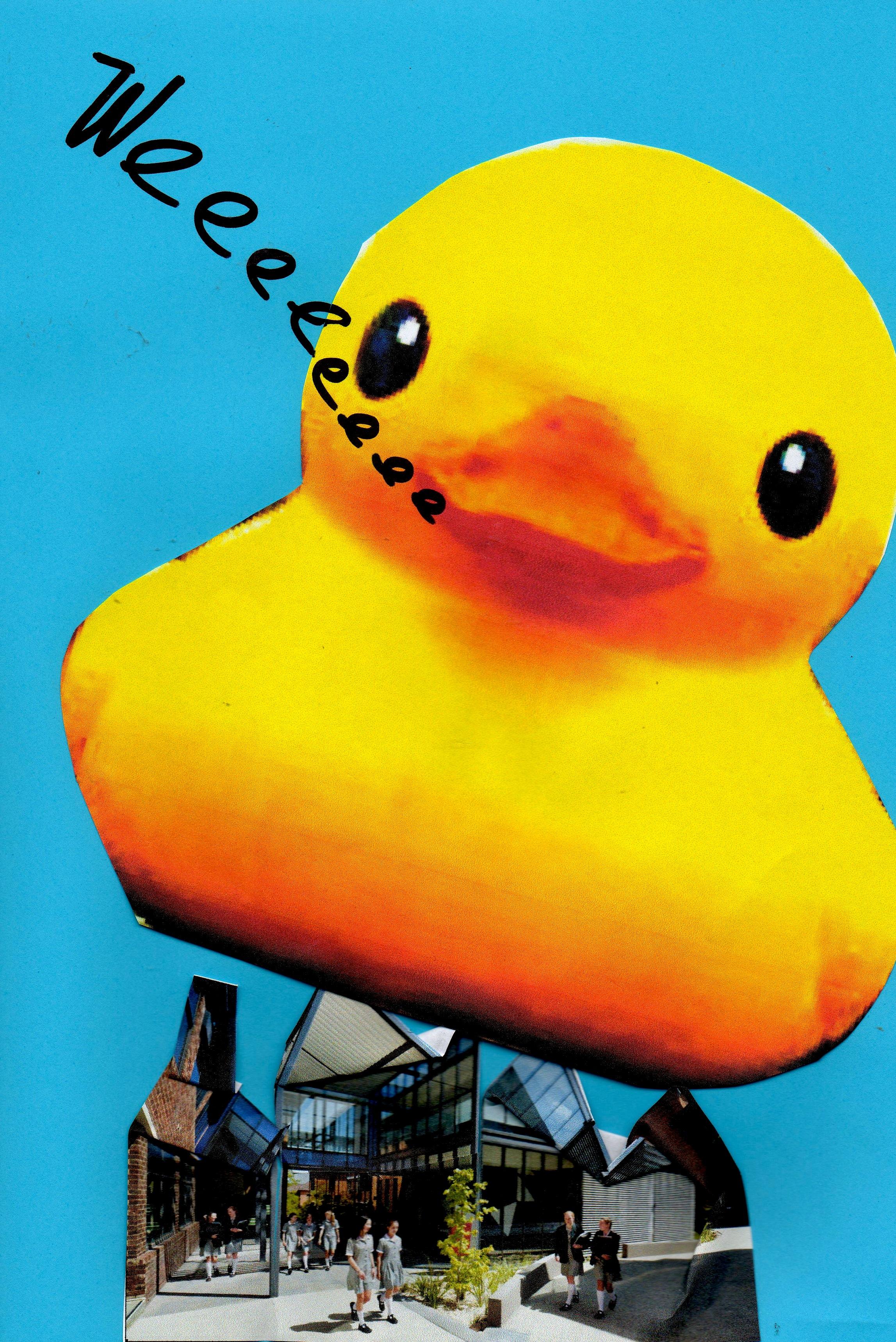 Rubber Duck Ducky Single Switch Plate Bathtub Shower: Giant Rubber Ducky