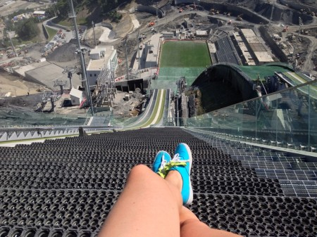 Sochi Ski Jump 2014 by blogger Melbourneer