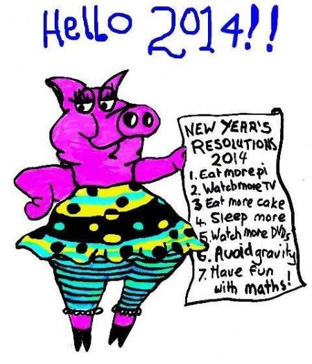 mathspig 2014 new year