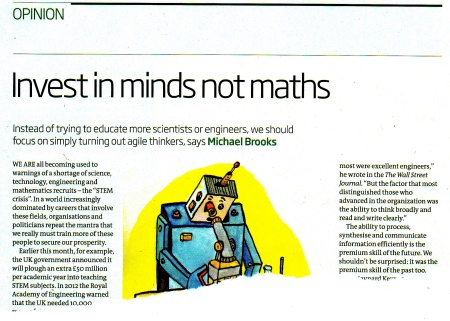 New Scientist 28 Dec 2013