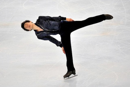 Patrick Chan, Canada,  Camel Spin