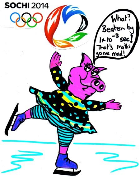 Sochi Olympic Mathspig