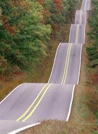 6. sine curve road