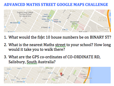 Advance Maths St Challenge