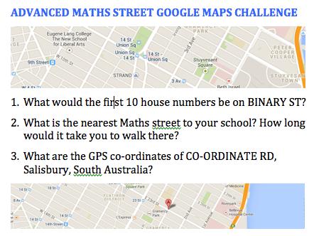 Advance Maths St Challenge