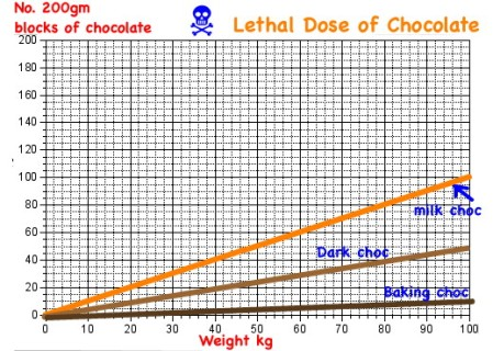 Mathspig Death by Choc Graph