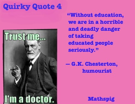 Mathspig Quirky Quote 4