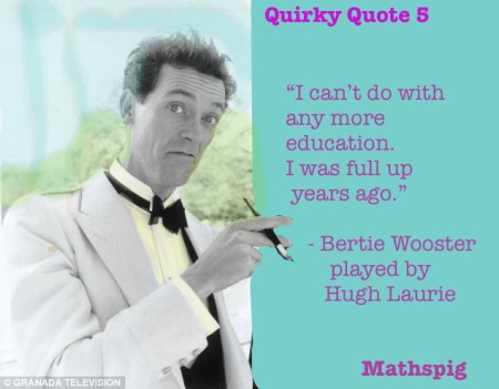 Mathspig Quirky Quote 5