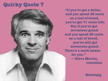 Mathspig Quirky Quote 7