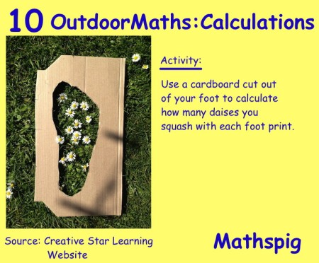 Outdoor Maths 10 Mathspig