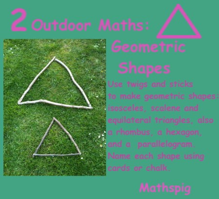 Outdoor Maths 2 Mathspig