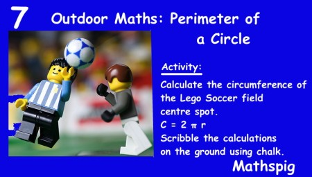 Outdoor Maths 7 Mathspig