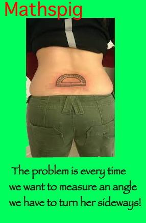 Protractor Tattoo Mathspig