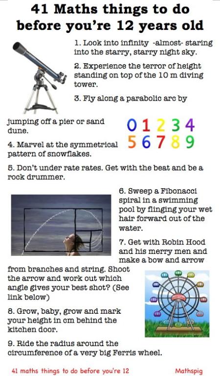 Mathspig 41 maths things 1