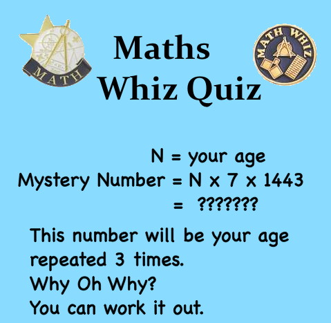 Maths Mystery Box 6: WEIRD | Mathspig Blog