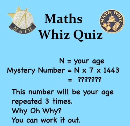 Maths mystery no.