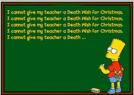 1 BArt Simpson Death Wish
