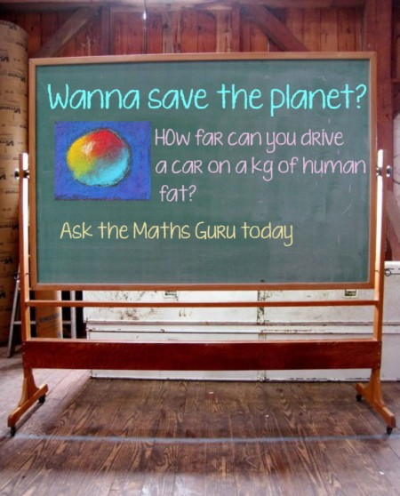 1 Save the Planet chalk board