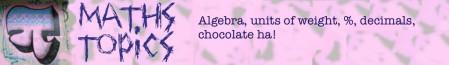 Maths topics 10