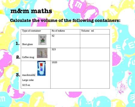 mathspig m&m maths 3