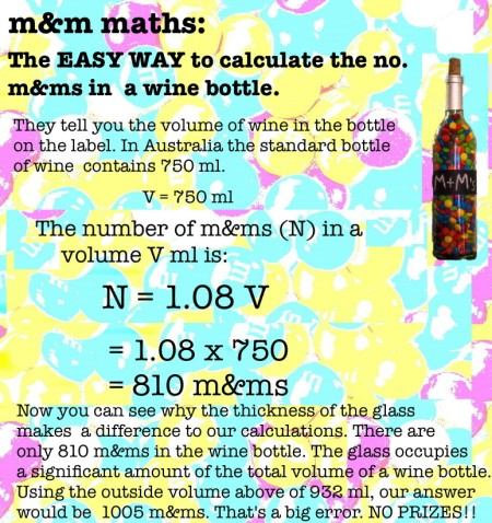 mathspig m&m maths wine bottle 2