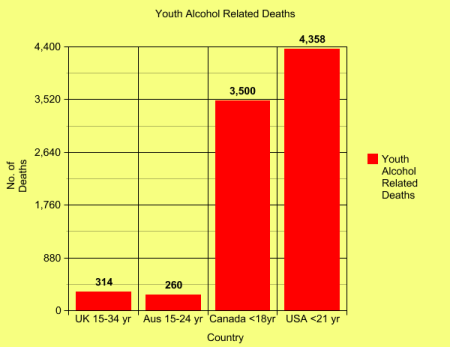 Mathspig 9 Youth alcohol related deaths