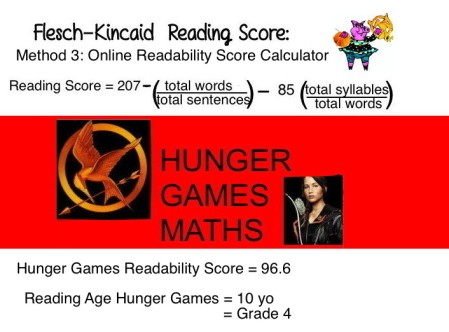 9 Hunger Games readaility Method 3