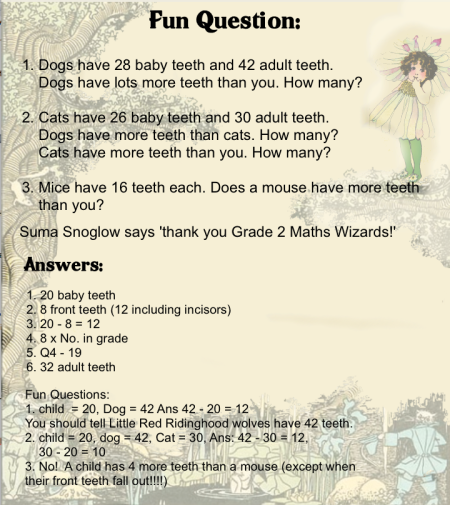 A Maths Fairy Tale 3