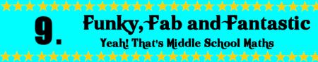 Mathspig Funky, fab & Fantastic 9