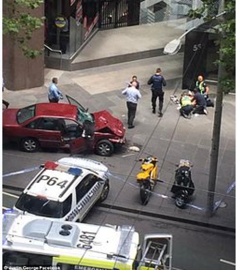 Melbourne Car Attack 2017