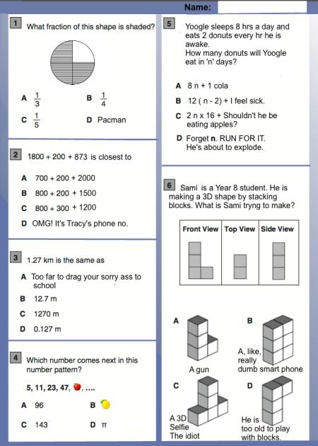 Silly Maths Jokes   Mathspig Blog