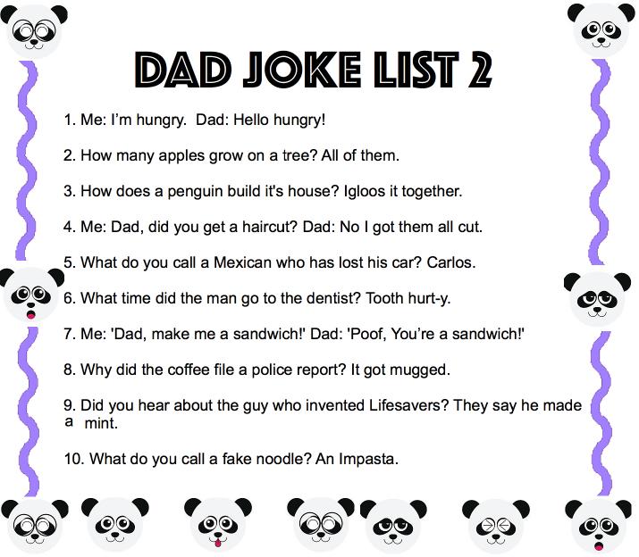 7a dad jokes the positive the negative and the number line mathspig blog. Black Bedroom Furniture Sets. Home Design Ideas